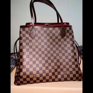 A Louis Vuitton large bag.